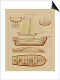 Antique Ship Plan III