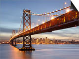 Bay Bridge  San Francisco  Califonia  USA