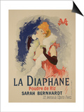 "Reproduction of a Poster Advertising ""La Diaphane"""