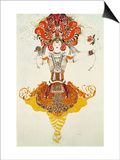 "Ballet Costume for ""The Firebird "" by Stravinsky"
