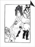 Illustration from Lysistrata by Aristophanes