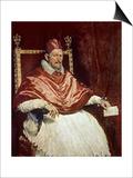 Portrait of Pope Innocent X (1574-1655)  1650