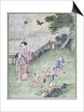 Children Playing with Kites
