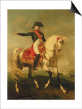 Equestrian Portrait of Napoleon I (1769-1821) 1810
