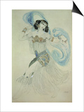 "Costume Design for Salome in ""Dance of the Seven Veils "" 1908"
