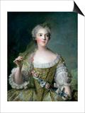 Portrait of Madame Sophie (1734-82)  Daughter of Louis XV  at Fontevrault  1748