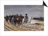 Napoleon (1769-1821) on Campaign in 1814  1864