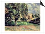Trees in a Park  Jas de Bouffan  1885-87