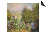 A Corner of the Garden at Montgeron  1876-7