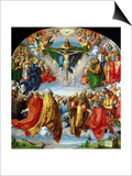 The Landauer Altarpiece  All Saints Day  1511