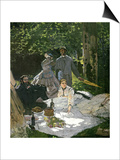 Dejeuner Sur L'Herbe  Chailly  1865 (Central Panel)