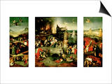Triptych: the Temptation of St Anthony