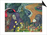 Ladies of Arles (Memories of the Garden at Etten)  c1888