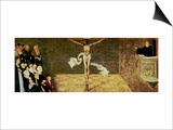 Martin Luther's Sermon  Detail from a Triptych  1547