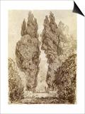 Large Cypresses at the Villa D'Este