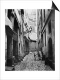 Rue Du Haut Moulin  from Rue De Glatigny  Paris  1858-78
