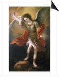 Saint Michael Banishes the Devil to the Abyss  1665/68
