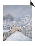 Snow at Louveciennes  1878