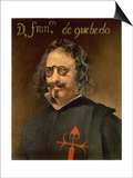 Portrait of Francisco De Quevedo Y Villegas