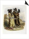 Sih-Chida and Mahchsi-Karehde  Mandan Indians