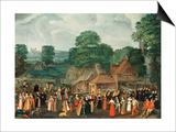 A Fete at Bermondsey  circa 1570