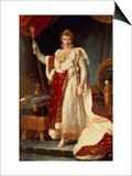 Napoleon in Coronation Robes  circa 1804
