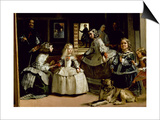 Las Meninas  Detail of the Lower Half of the Family of Philip IV (1605-65) of Spain  1656
