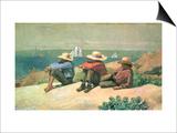 On the Beach  1875
