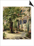 Interior of the Palm House at Potsdam  1833