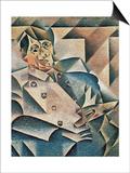 Portrait of Pablo Picasso (1881-1973) 1912