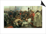 The Zaporozhye Cossacks Writing a Letter to the Turkish Sultan  1890-91