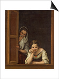 Women from Galicia at the Window  1670