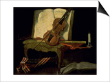 Still Life with a Violin