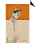 "Isolde  Illustration from ""The Studio "" 1895"