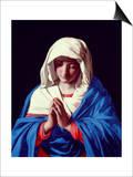 The Virgin in Prayer  1640-50