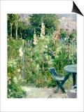 Roses Tremieres (Hollyhocks)  1884