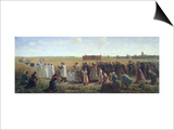 The Blessing of the Wheat in the Artois  1857