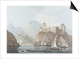 East View of the Forts Jellali and Merani  Muskah  Arabia  June 1793