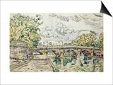 The Pont Neuf  Paris  1927