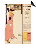 """Publicity Poster for """"The Yellow Book """" Pub 1894-97 in London by John Lane"""