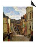A Suburban Street  1884