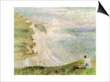 Cliffs at Pourville  1879