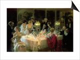 The End of Dinner  1913