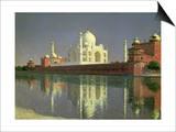 The Taj Mahal  1874-76