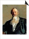 Portrait of Vladimir Stasov  1883