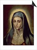 The Virgin Mary  c1594-1604