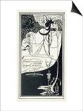 "J""Ai Baise Ta Bouche  Jokanaan  Illustration from ""Salome"" by Oscar Wilde  Pub 1894"