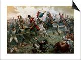 Battle of Waterloo  18th June 1815  1898