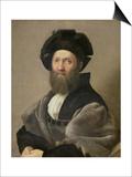 Portrait of Baldassare Castiglione Before 1516