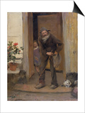 The Beggar  1881